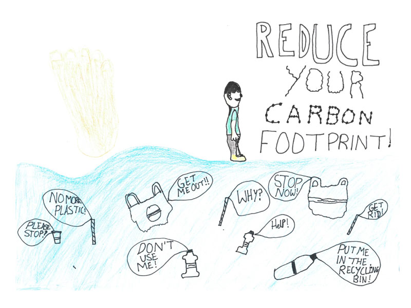 Reduce your cabon footprint by Billy, 12