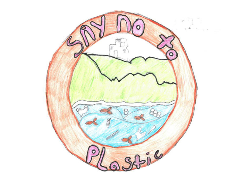 Say no to plastic by Freya, 12
