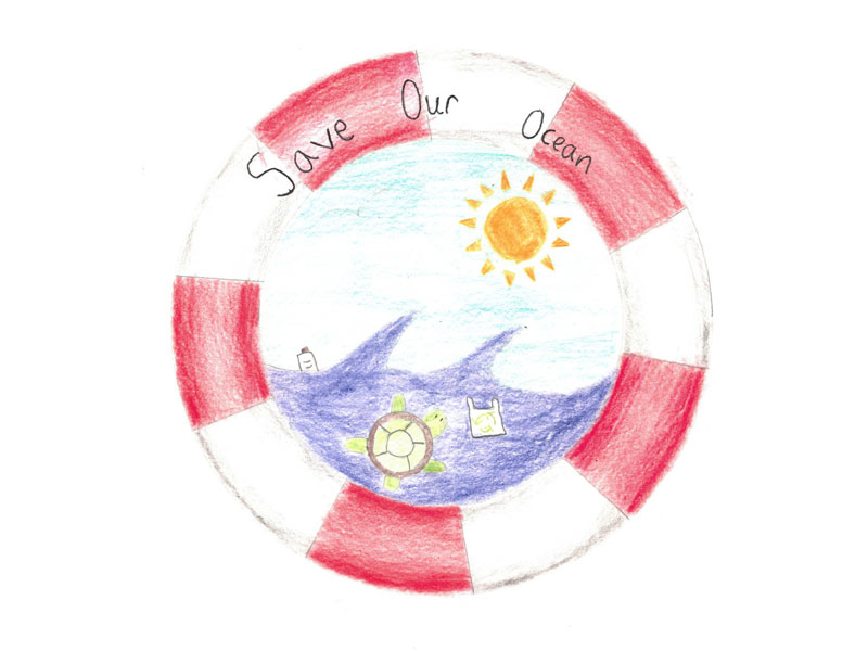 Save our ocean by Hannah