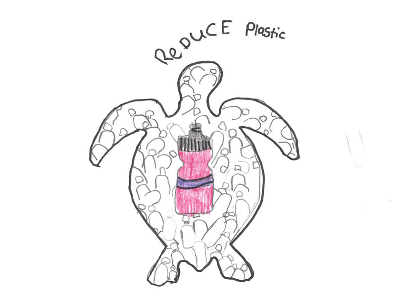 Reduce plastic by Holly, 13