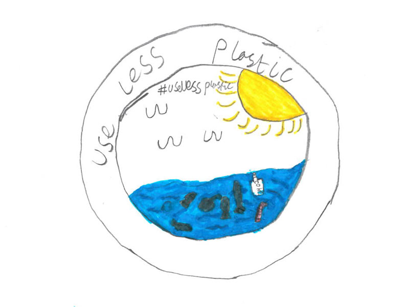 Use less plastic by Jack, 12