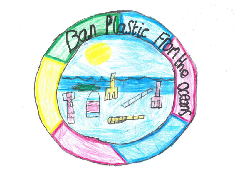 Ban plastic from the ocean by Jack