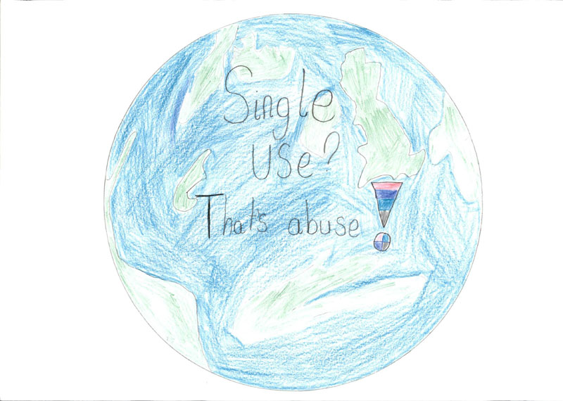 single use? that's abuse! by Michelle